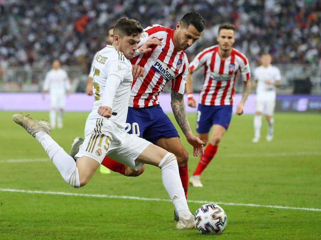 Waktunya El Derbi Madrileno: Real Madrid Vs Atletico Madrid
