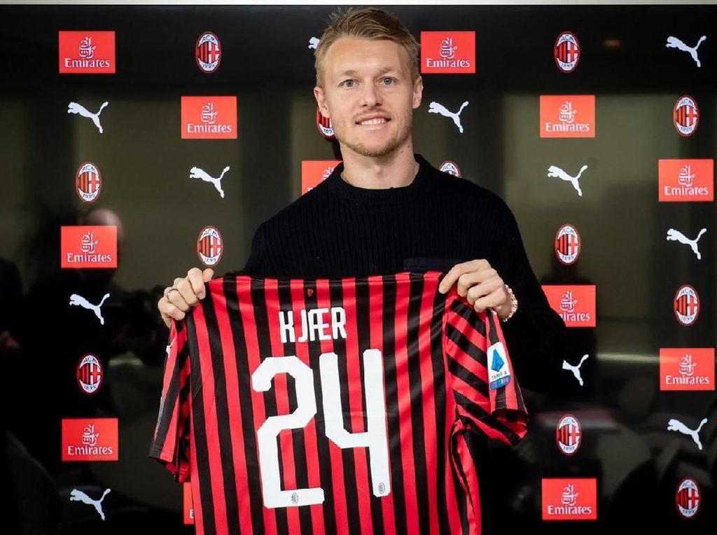 AC Milan Resmi Pinjam Simon Kjaer dari Sevilla