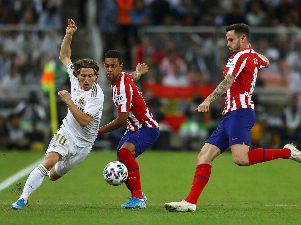 Real Madrid Vs Atletico Madrid: Menang Adu Penalti, El Real Kampiun