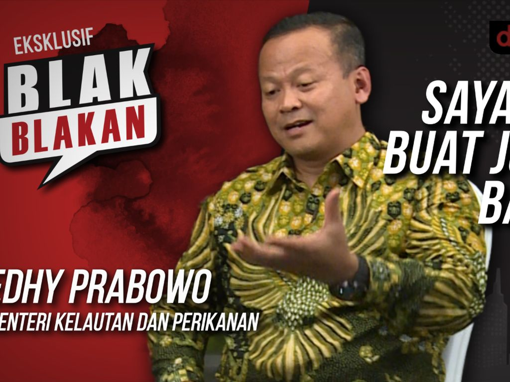 Blak-blakan Edhy Prabowo: Saya Akan Buat Jokowi Bangga