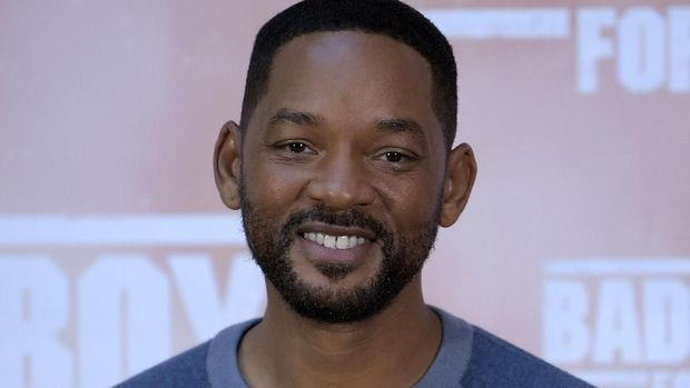 US actor Will Smith poses at the 'Bad Boys For Life' launching photocall in Madrid on January 8, 2020. (Photo by Gabriel BOUYS / AFP)
