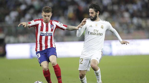 Real Madrid berhasil mengalahkan Atletico Madrid dalam drama adu penalti.
