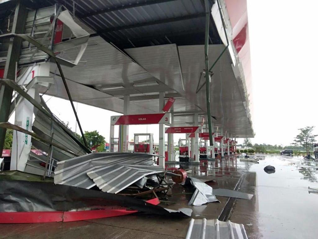 Badai di Tol Cipali, BPBD : Tidak Ada Korban Jiwa