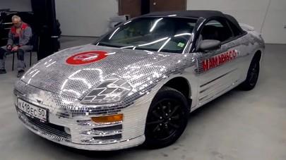 Bikin Silau, Mobil Ini Berlapis 65.000 Potongan Cermin