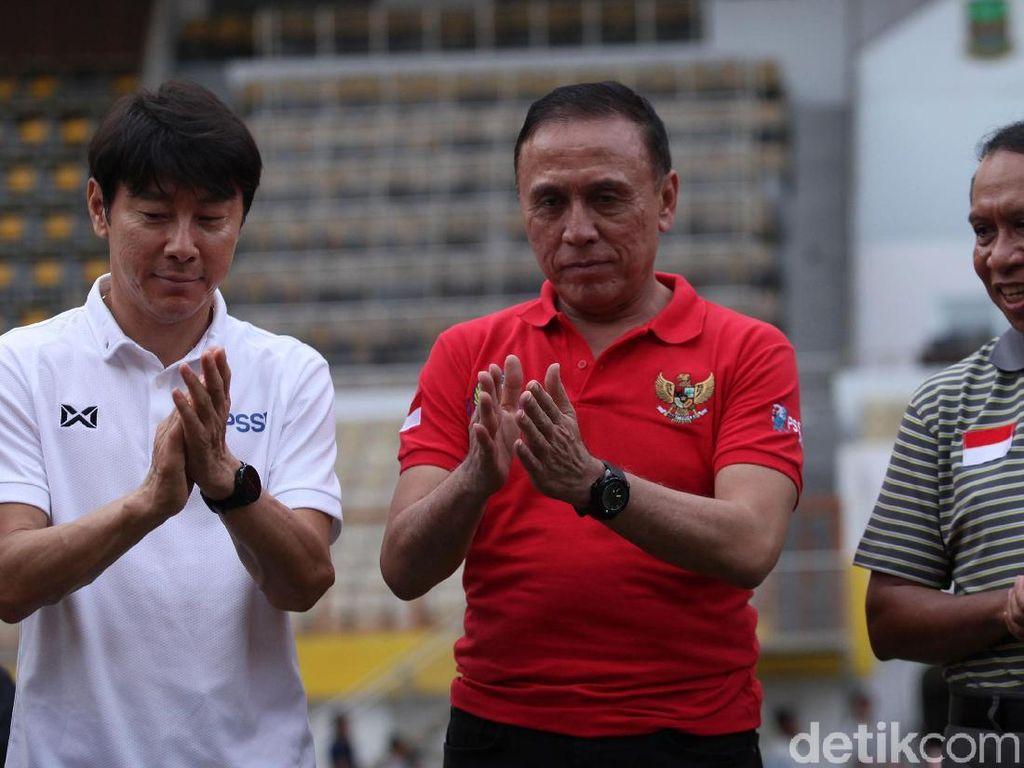 Shin Tae-yong Pamer Perbendaharaan Kata Bahasa Indonesia