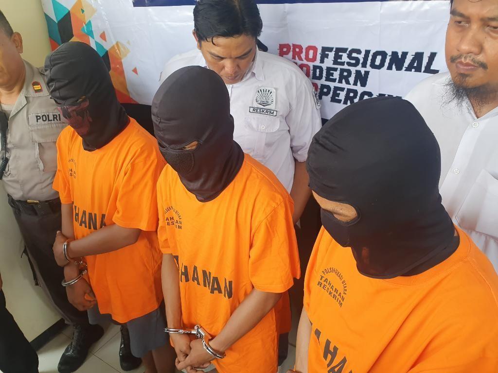 3 Pelaku Begal di Bekasi Ditangkap Polisi Usai Jual Motor Curian via Online