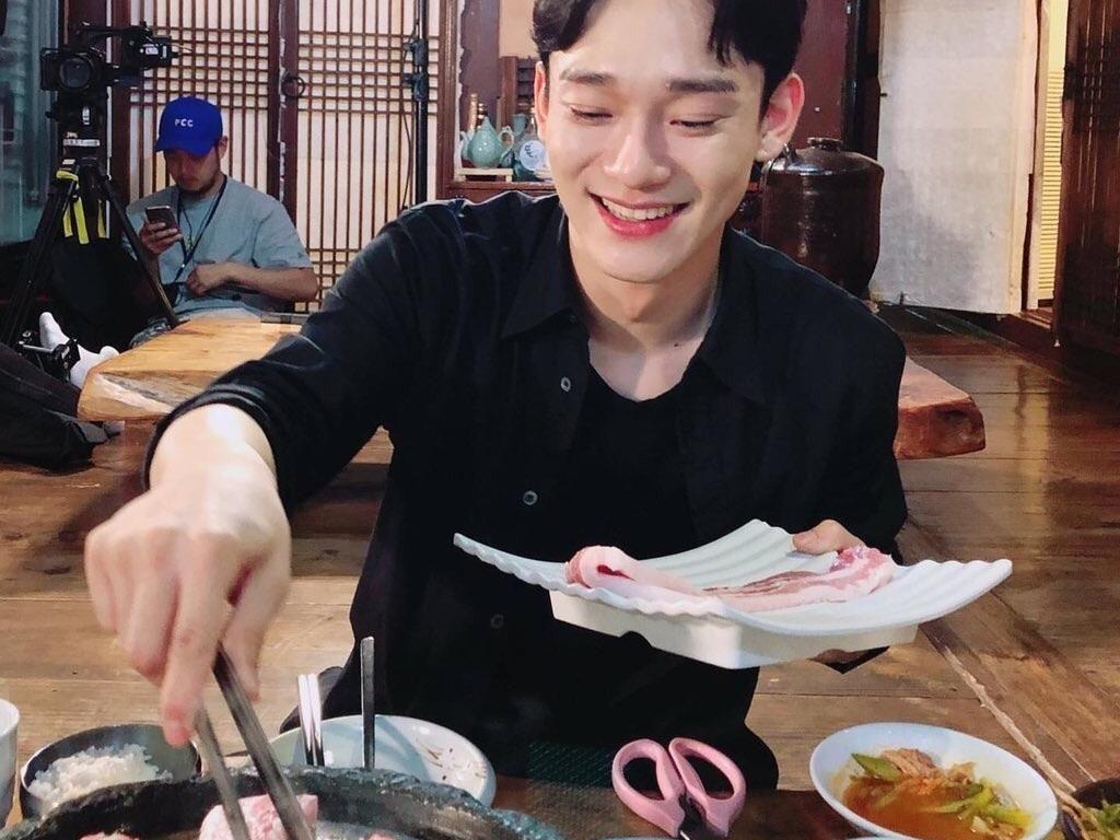 Akan Segera Menikah, Ini Momen Kuliner Chen EXO Saat Lajang