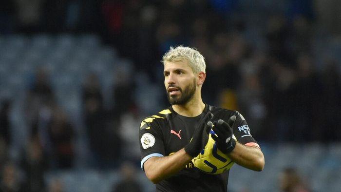 Sergio Aguero mencetak hat-trick dan mengukir dua rekor Liga Inggris. (Foto: Rui Vieira/AP Photo)