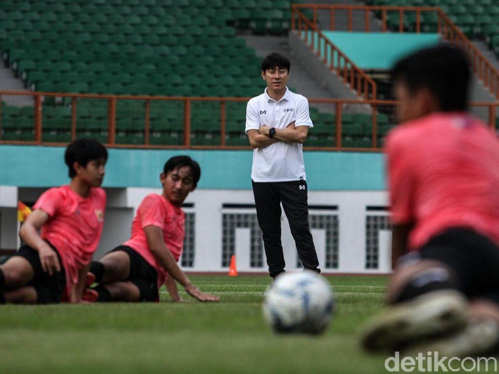 Belasan Pemain Timnas U-19 Lolos Seleksi Shin Tae-yong