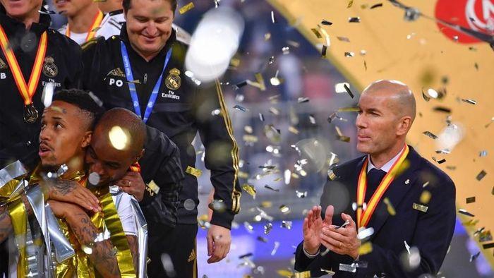 Zinedine Zidane memenangi sembilan final selama membesut Real Madrid. (Foto: Giuseppe Cacace / AFP Photo)