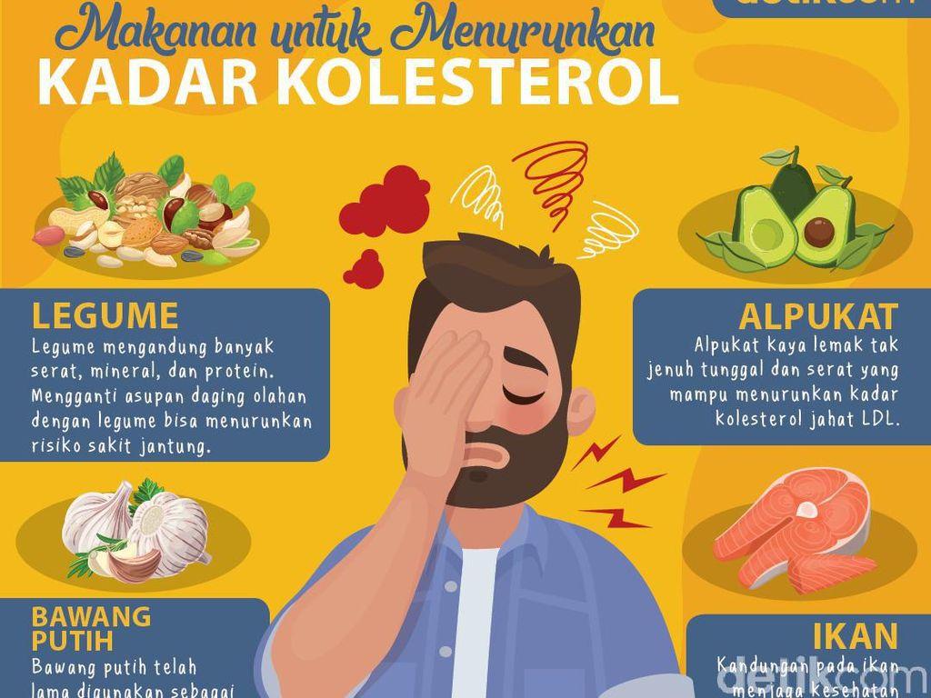 Daftar Makanan untuk Menurunkan Kadar Kolesterol