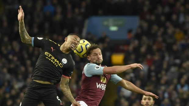 Manchester City tampil dominan di markas Aston Villa.