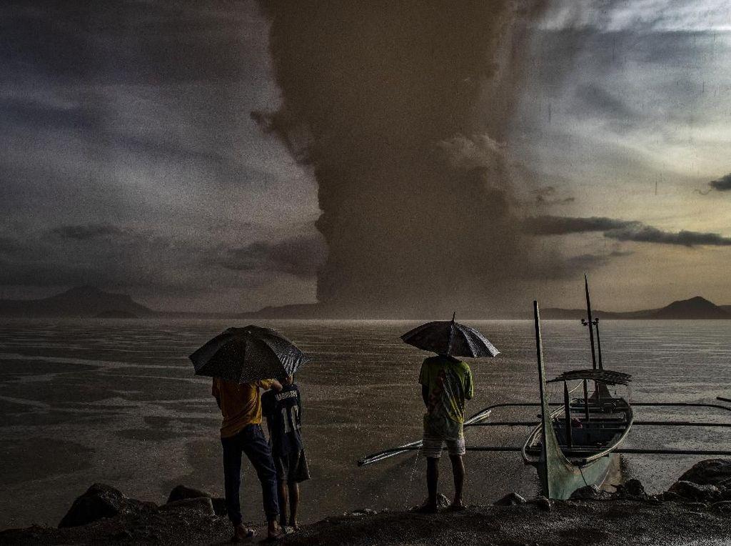 Gunung Taal di Filipina Erupsi, Kemlu Keluarkan Imbauan