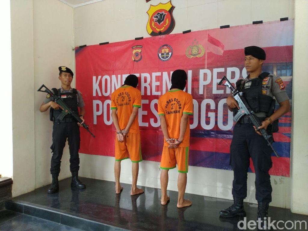 Polisi Tangkap 2 Bos Tambang Emas Ilegal di Bogor
