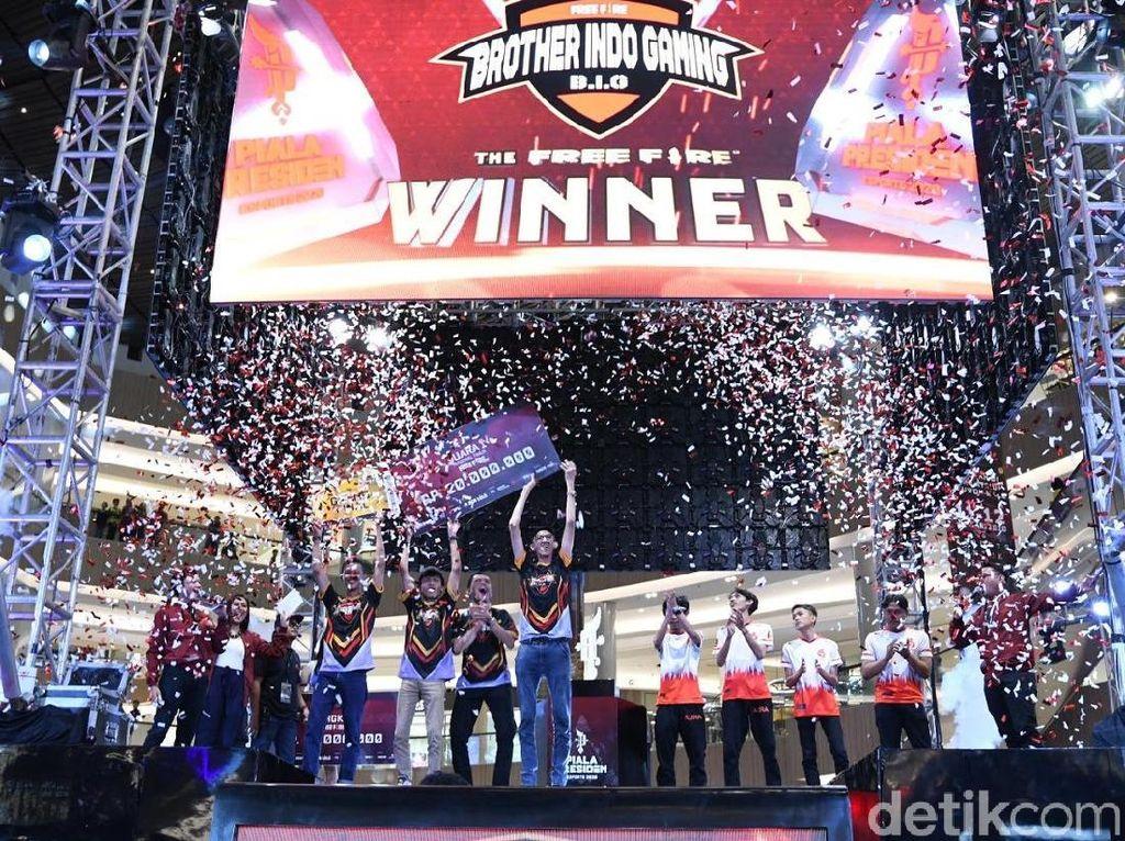 10 Tim eSport Indonesia Timur Lolos ke Final Piala Presiden