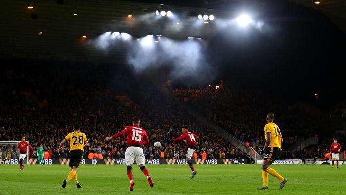 Man United bertekad lolos, tak ingin disingkirkan Wolverhampton lagi di Piala FA. (Foto: Catherine Ivill / Getty Images)