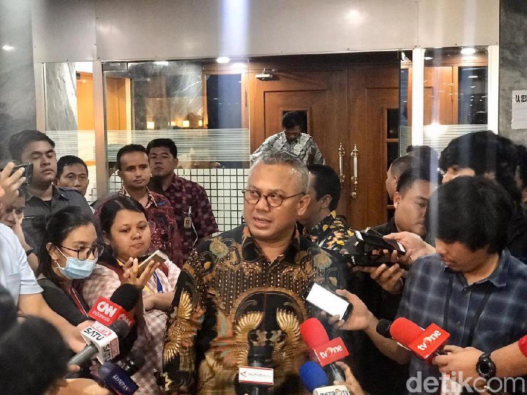 KPU ke Johan Budi: Kalau Tak Ada Komisioner Lain Ditangkap Jangan Dikaitkan