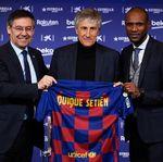 Bartomeu Ingin Barcelona Raih Treble Bersama Setien