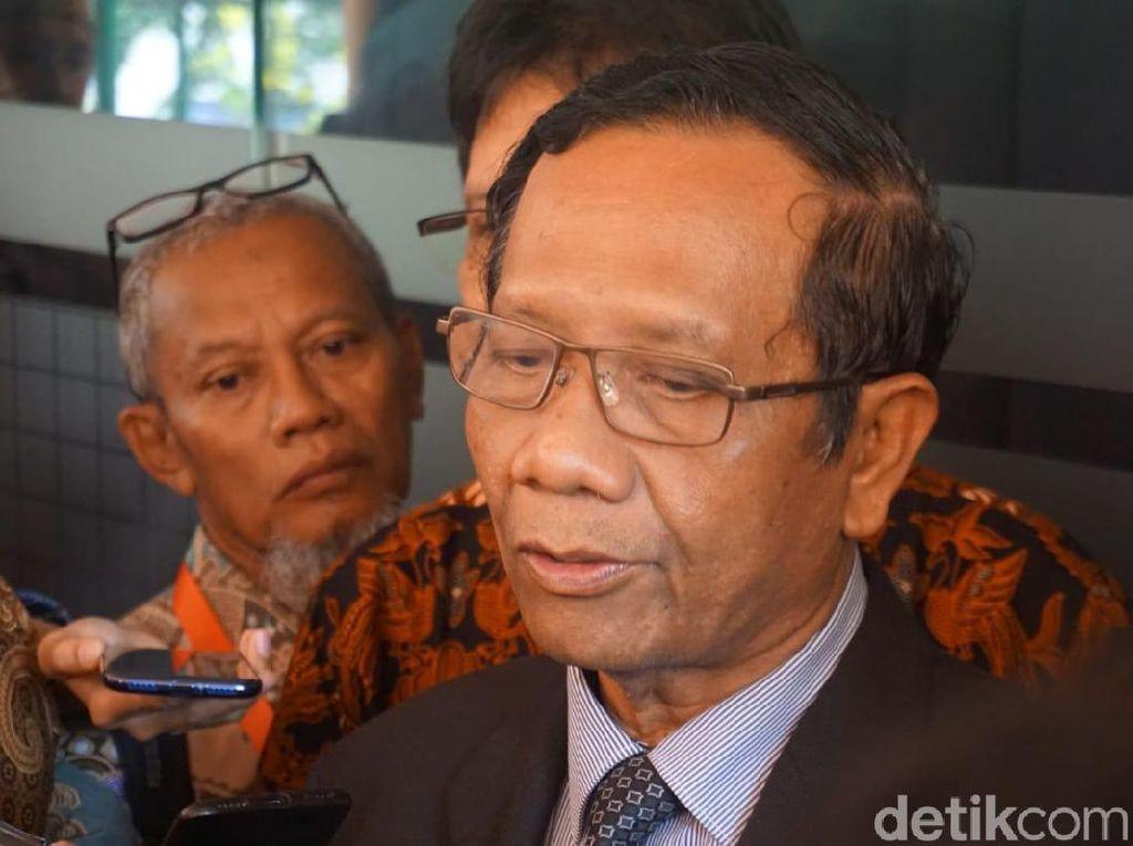 Mahfud Md soal Asabri: TNI Polri Tidak Usah Gundah