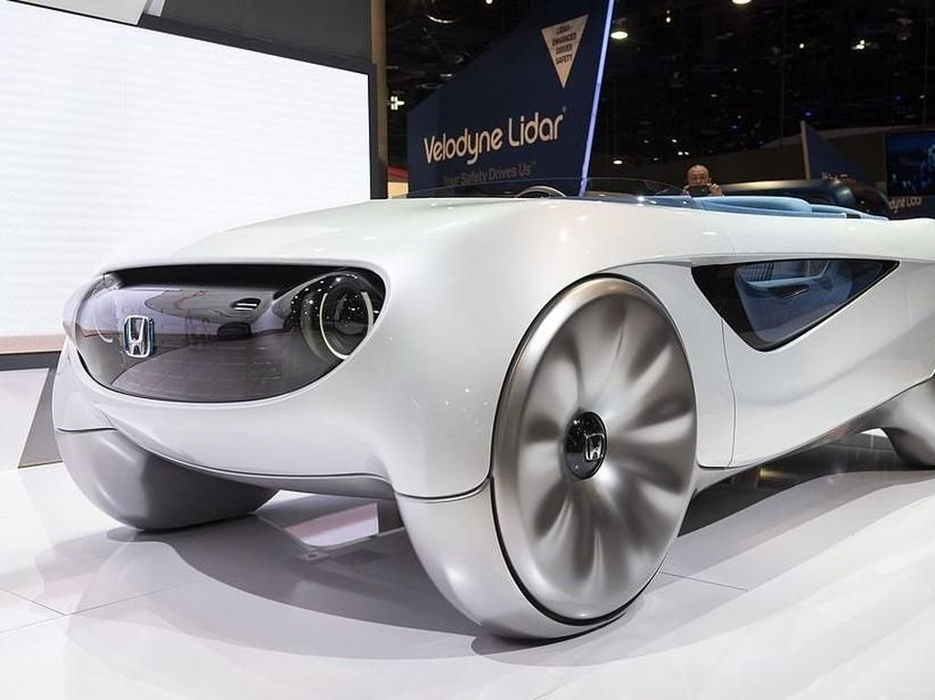 Konsep Mobil Otonom Paling Ideal dari Honda