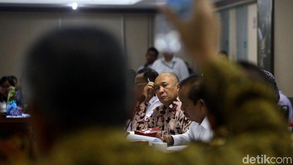 Menkop UKM Rapat Bareng Komite IV DPD RI