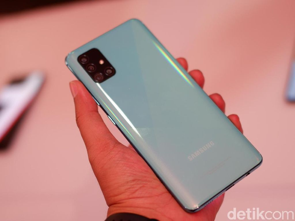 Galaxy A51 RAM 8 GB Hadir, Ini Harganya!