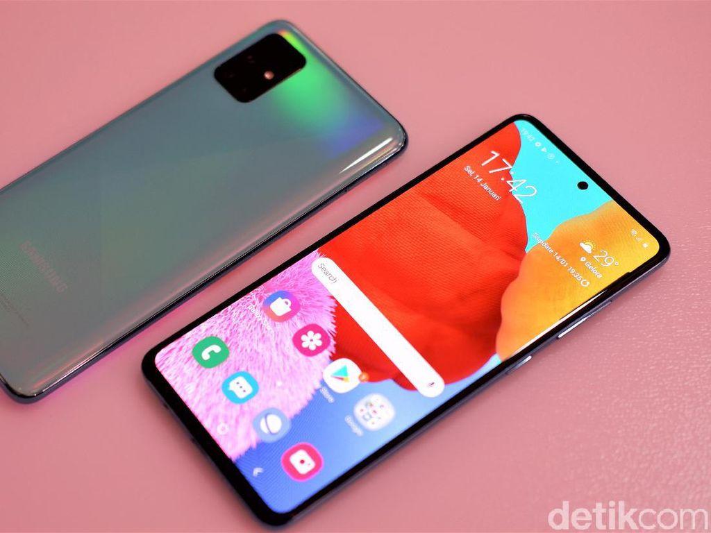 Spek Galaxy A51 Kok Mirip A50s, Samsung?