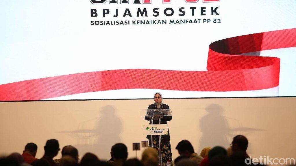 BP Jamsostek Sosialisasi PP 82 Tahun 2019