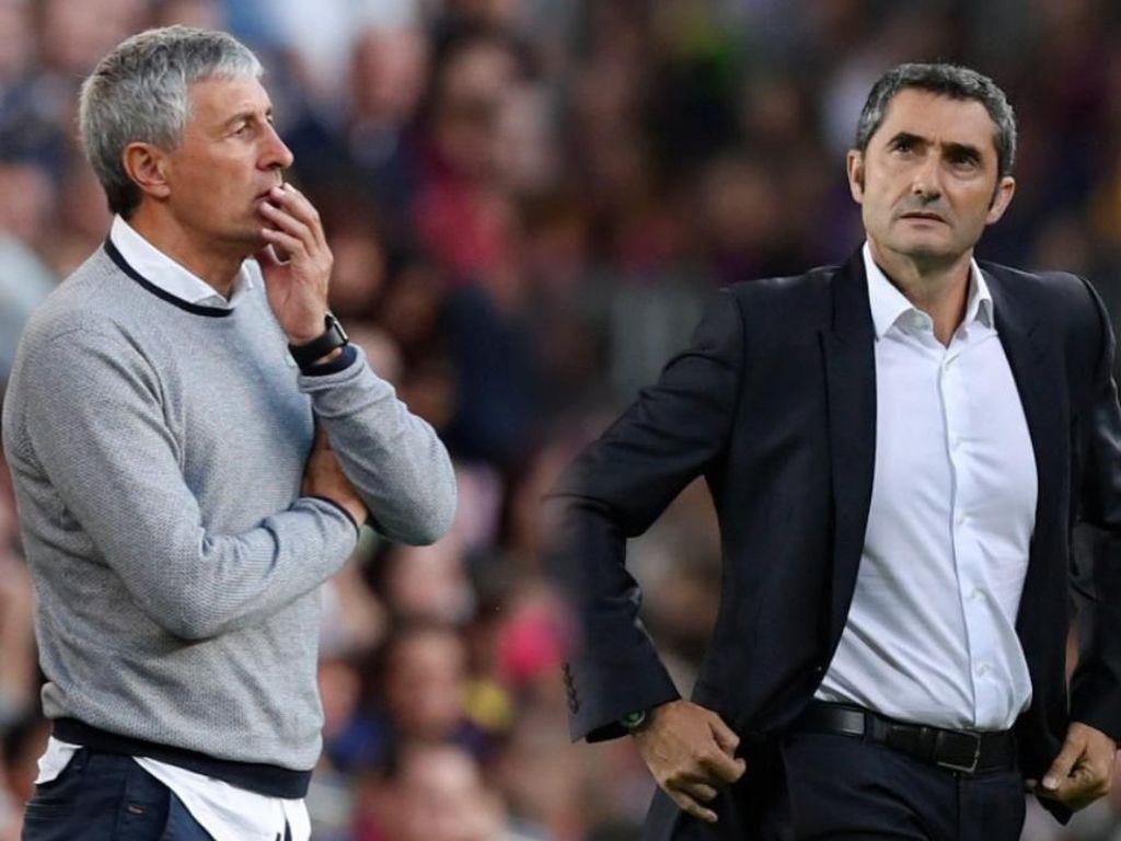 Valverde Out, Quique Setien In