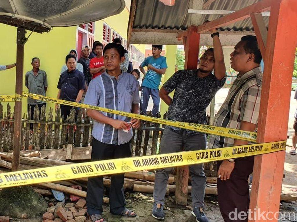 Tertimpa Bangunan Sekolah Ambruk, Murid SD di Polman Tewas