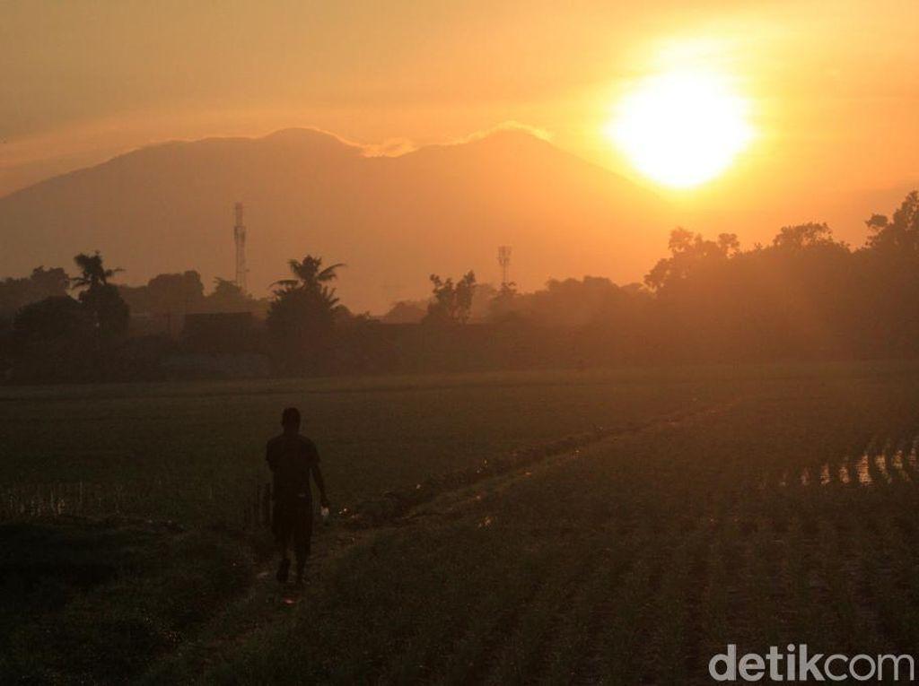 Bandung Cerah, Matahari Terbit dengan Indah