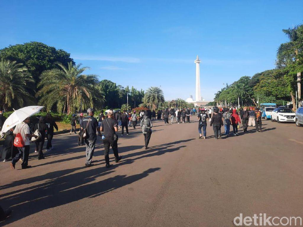 Hindari Bentrok, Polisi Kawal Kepulangan Aksi Massa Kontra-Anies Baswedan