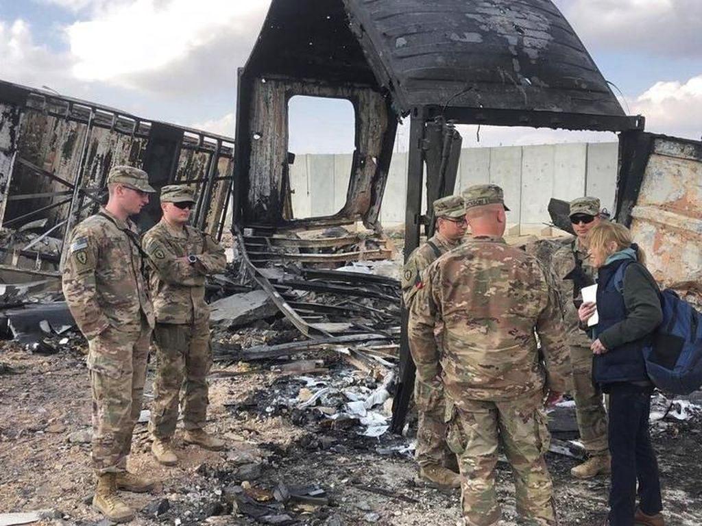 Bertambah Lagi, 109 Tentara AS Terluka dalam Serangan Rudal Iran