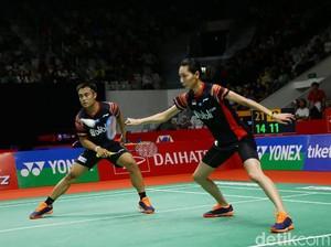 Hasil Indonesia Masters: Hafiz/Gloria Tumbang, Praveen/Melati Menang WO