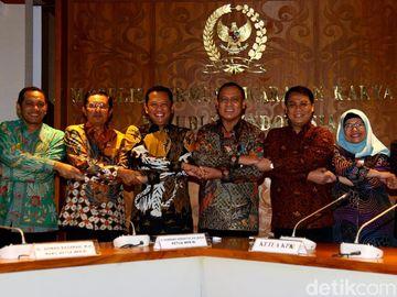 Sowan ke MPR, Pimpinan KPK Bahas Jiwasraya