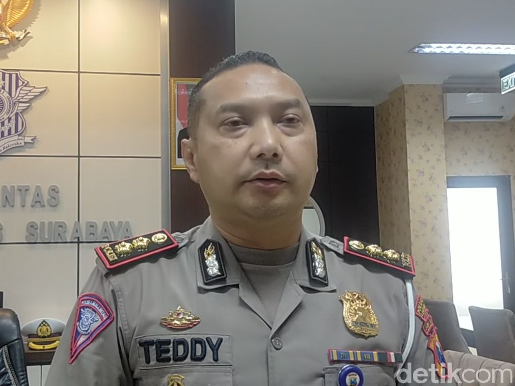 Seminggu Uji Coba e-Tilang di Surabaya Didominasi Pelanggaran Markah Jalan