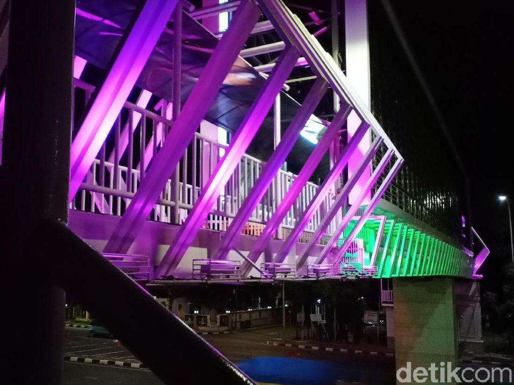 Foto: Bekasi Punya JPO Seindah Ini