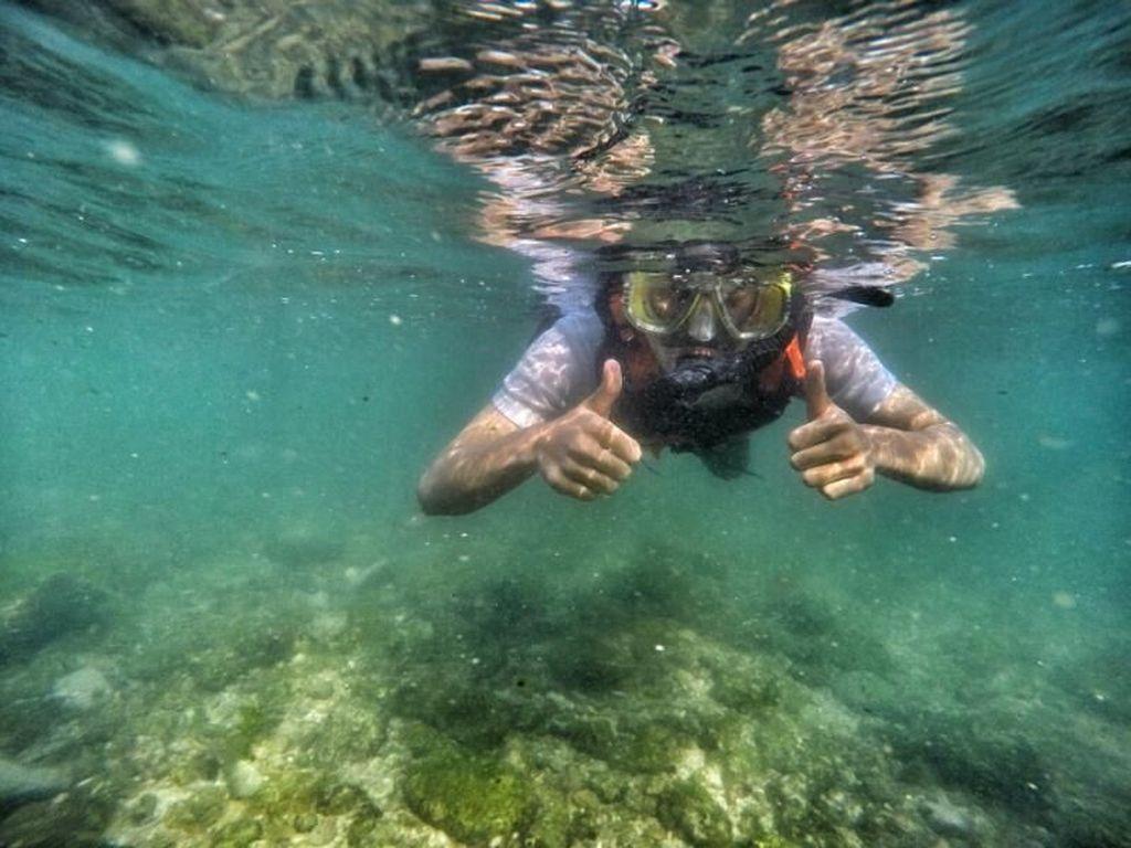Pantai Nglambor Terapkan Tata Cara Baru Kegiatan snorkeling