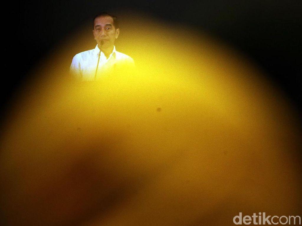 Jokowi Dengarkan Keluhan Pengusaha Muda di Acara Hipmi
