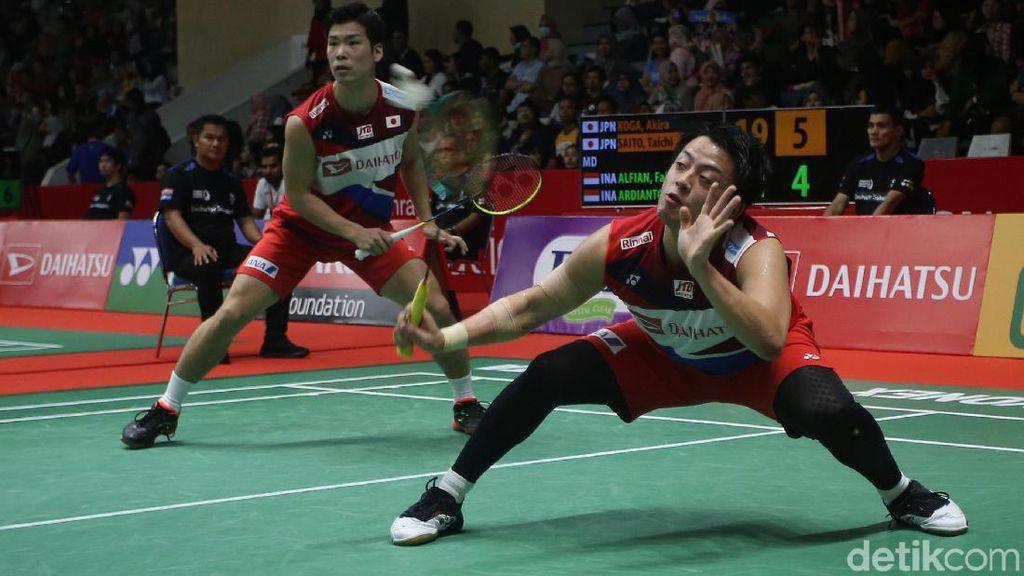 Fajar/Rian Melaju ke Babak Kedua Indonesia Masters 2020