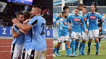 Menang Besar, Lazio Sudah Ditunggu Napoli di Perempatfinal