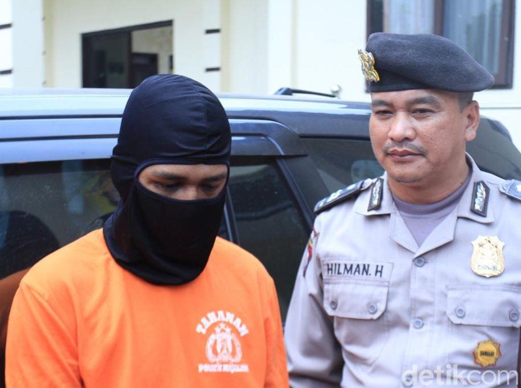 Polisi Tembak Begal Taksi Online di Majalaya Bandung
