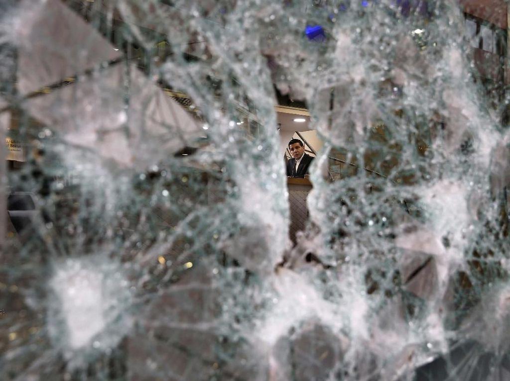 Buntut Krisis Ekonomi di Lebanon, Pendemo Rusak Bank dan ATM