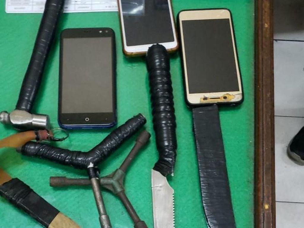 Polisi Tangkap Komplotan Begal yang Resahkan Warga Medan