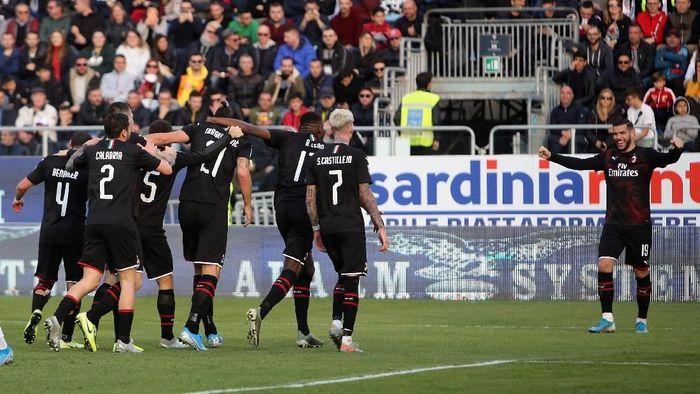 AC Milan akan menjamu SPAL di babak 16 besar Coppa Italia malam nanti (Enrico Locci/Getty Images)