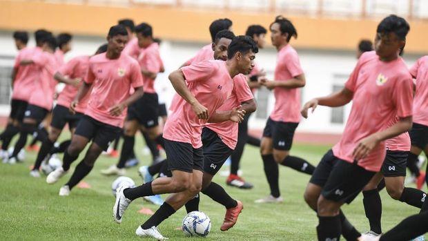 Tae Yong Ingin Pemain Timnas Indonesia U-19 Tak Kenal Lelah