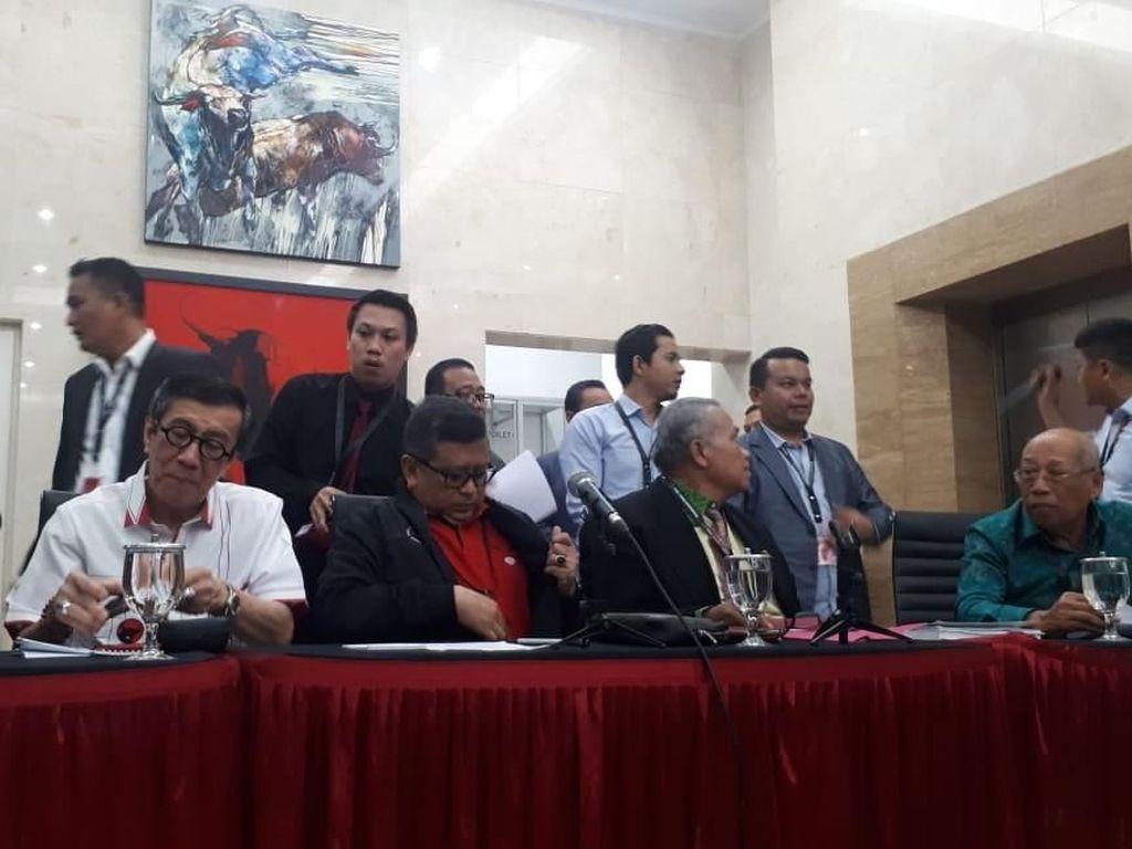 Diumumkan Yasonna Laoly, PDIP Bentuk Tim Hukum Gegara OTT KPK