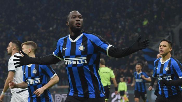 Inter Milan menang 4-1 atas Cagliari di babak 16 besar Coppa Italia. (Foto: Pier Marco Tacca/Getty Images)