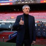 Quique Setien Cuma Pelatih Pilihan Keempat Barcelona