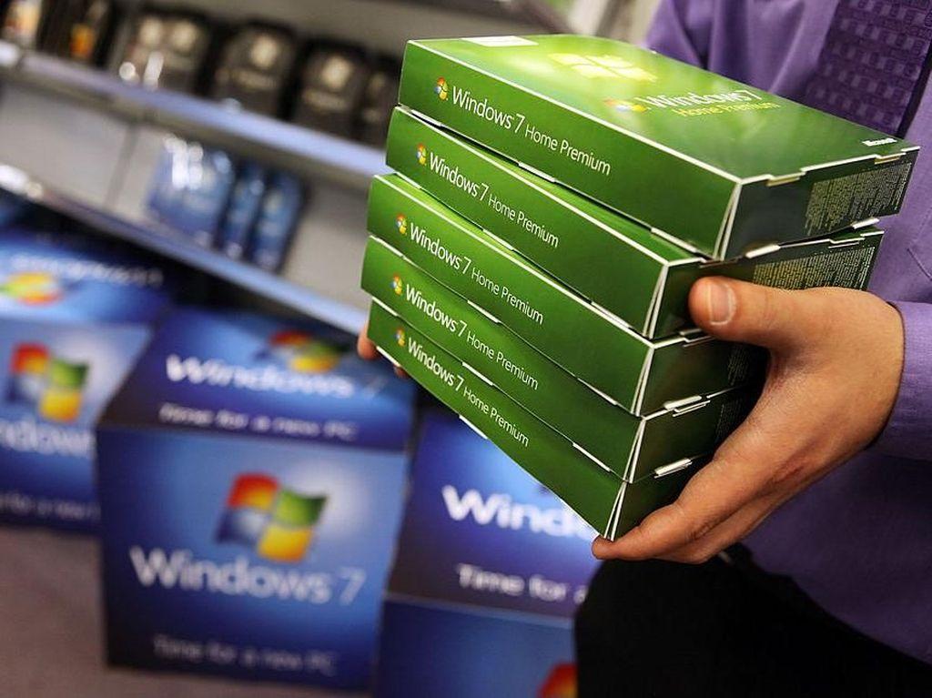 Goodbye dan Terima Kasih, Salam Perpisahan untuk Windows 7